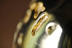 guld- abstrakt bakgrund Royaltyfria Bilder