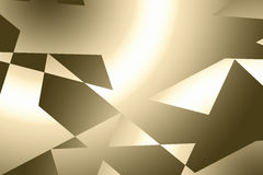 guld- abstrakt bakgrund Royaltyfria Foton