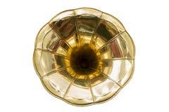guld- abstrakt blomma Royaltyfria Bilder