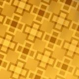 Guld- abstrakt rengöringsdukbakgrundsdesign - modell stock illustrationer