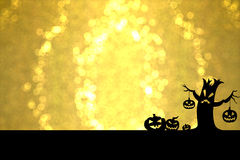 Guld- allhelgonaafton Royaltyfri Bild