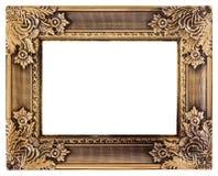 Guld- förälskelse inramar royaltyfri foto