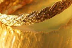 Guld- armband Arkivbilder