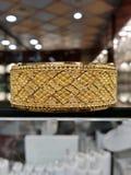 Guld- armband Royaltyfria Foton