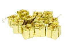 guld- askgåva Arkivbilder