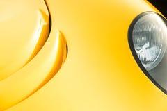 Guld- auto panelabstrakt begrepp Royaltyfri Fotografi