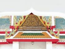 Guld av gaveltopparkitektur arkivbilder