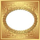 Guld- bakgrund Arkivfoto