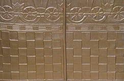Guld- bakgrund Royaltyfri Foto