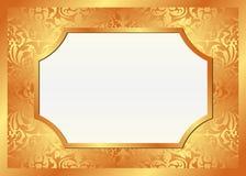 Guld- bakgrund Arkivfoton