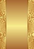Guld- bakgrund Fotografering för Bildbyråer