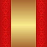Guld- bakgrund Arkivbild