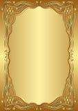 Guld- bakgrund Royaltyfria Foton