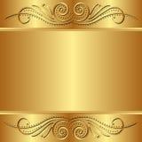 guld- bakgrund Arkivbilder