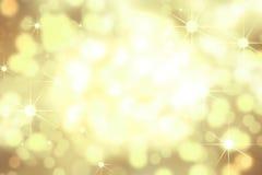 Guld- bakgrund 1 Arkivbild