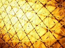 Guld- bakgrund för fyrkantabstrakt begreppyttersida vektor illustrationer