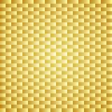 Guld- bakgrund för kolkevlar textur Royaltyfria Bilder