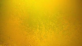 Guld- bakgrund med svag grungetextur i gammal tappningdesign, gul bakgrund royaltyfri illustrationer