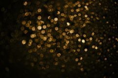 guld- bakgrundsbokeh royaltyfri bild