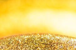 guld- bakgrundsjul Royaltyfria Bilder