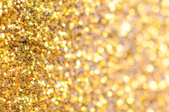guld- bakgrundsjul Royaltyfria Foton