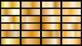 Guld- bakgrundstexturvektor stock illustrationer
