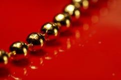 Guld ball_001 Arkivfoton