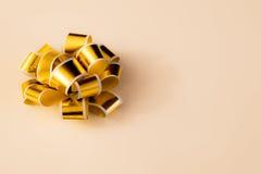 Guld- band Royaltyfri Fotografi