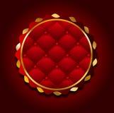 guld- banerkasino royaltyfri illustrationer