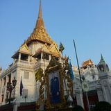 guld- bangkok Royaltyfri Fotografi