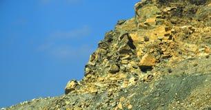 Guld- berg Royaltyfria Bilder
