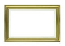 guld- bild för ram royaltyfri illustrationer