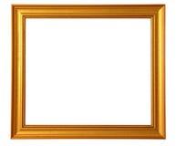 guld- bild för ram Fotografering för Bildbyråer