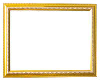 guld- bild för ram Arkivfoton