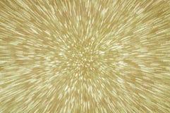 Guld- blänka abstrakt bakgrund för explosionljus Royaltyfria Foton