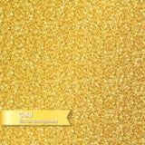 Guld- blänka texturerar Arkivfoto