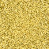 Guld blänker brusandemodellen dekorativt seamless för bakgrund Skinande glamabstrakt begrepptextur Bakgrund för konfettier för te Arkivfoto