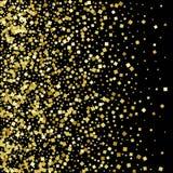 Guld blänker dammtextur Guld- partiklar Lyxig design också vektor för coreldrawillustration 10 eps vektor illustrationer