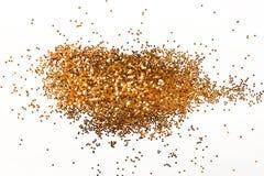 Guld blänker isolerat royaltyfri foto