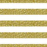 Guld blänker randig modellbakgrund Royaltyfri Foto