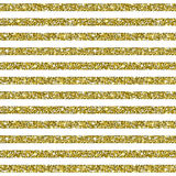 Guld blänker randig modellbakgrund Arkivfoton