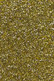 Guld blänker texturbakgrund Arkivbilder