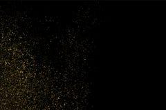 Guld blänker texturvektorn Royaltyfri Foto