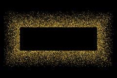 Guld blänker texturvektorn Arkivbild