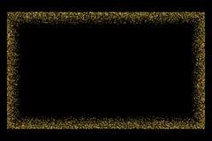 Guld blänker texturvektorn Arkivfoton