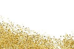 Guld blänker texturvektorn Fotografering för Bildbyråer