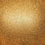 Guld- blanka lampor Royaltyfria Bilder