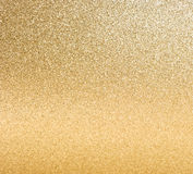 Guld- blanka lampor. abstrakt bakgrund Royaltyfri Foto