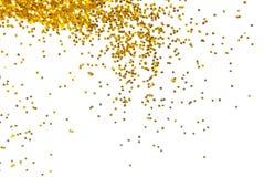 Guld- blänka bakgrund Royaltyfri Fotografi