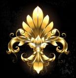 guld- blomma Royaltyfria Foton